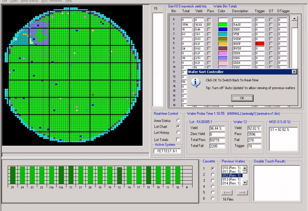WSC Real-Time Wafer Map 3
